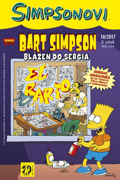 Bart Simpson #10/2017: Blázen do Sergia