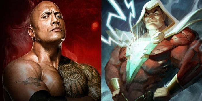 Dwayne Johnson a DC