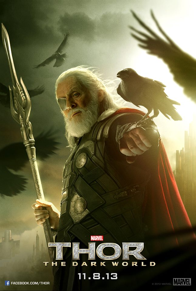 Plakát k Thor: The Dark World - Odin