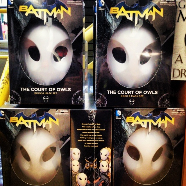 The Court of Owls masks